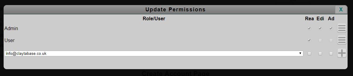 Set Permission